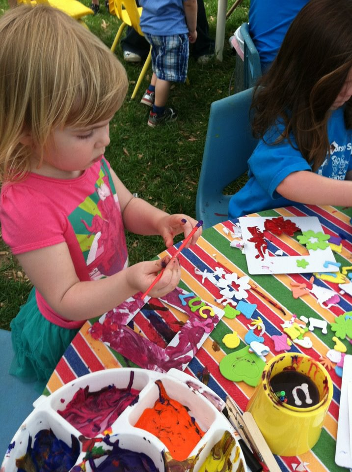 arts and crafts are offered at this DC area family event
